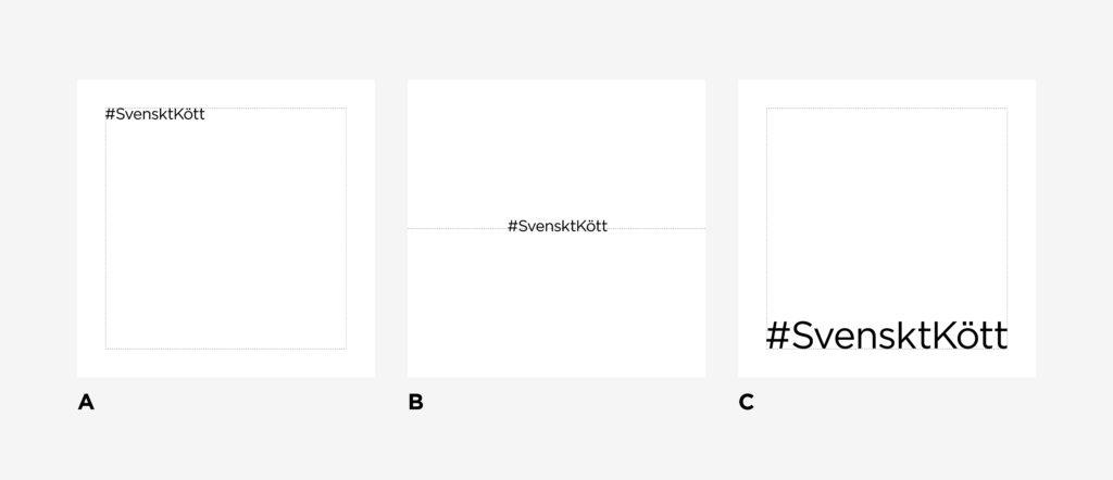 Logotypens placering