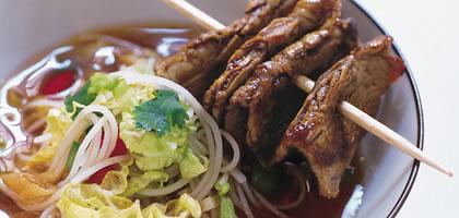 Förbrukning av gris- nöt- och lammkött i världen
