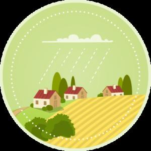 Ikon landsbyggd