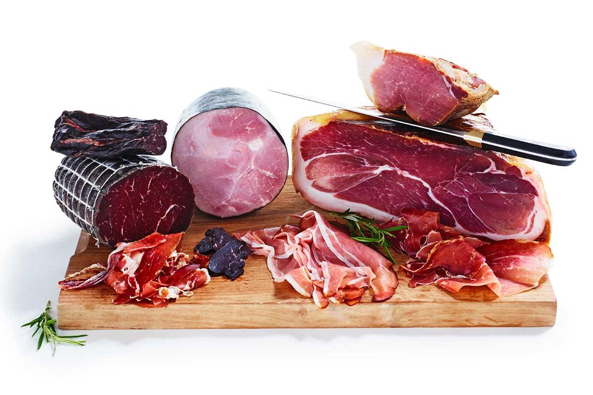 Lufttorkade och kallrökta helköttsprodukter
