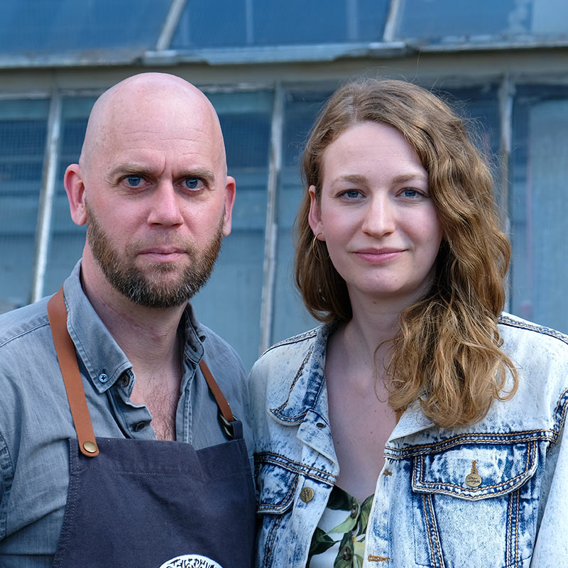 Sara Hallonsten och Oskar Ekman